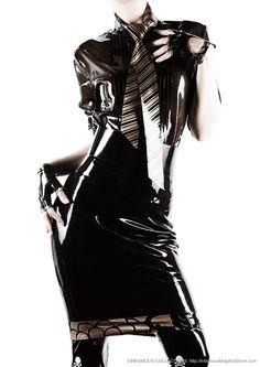 INFAMOUS MAGAZINE #07  Tie, Shirt, GLove and Stoking / Kurage  Direction & Styling : Kenji Nagasawa Styling : NAO Photography : Takahiro Watanabe Hair & Make-up : Sakiko Yasumatsu Model : Kanna