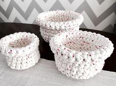 White basket, gift, birthday ;)