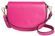 Merona Women's Mini Flap Crossbody Handbag Pink Crossbody Bag, Pocket Books, Affordable Fashion, Cross Body Handbags, Saddle Bags, Latest Fashion, Purses, Mini, Compact