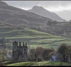 Killaha Castle,  Glenflesk, Killarney. This ruin was once the powerhouse of the…