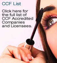 CHOOSE CRUELTY FREE LIST (CCF List). Accredited Cruelty-Free Companies. Products are listed with symbols to represent that all products are suitable for vegans, some are suitable for vegans, products are vegtarian (may contain beeswax, lanolin, honey, milk, egg and/or casein), or meets standards of non-animal testing but some may contain animal products.
