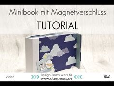 Anleitung: Minibook mit verstecktem Magnetverschluss