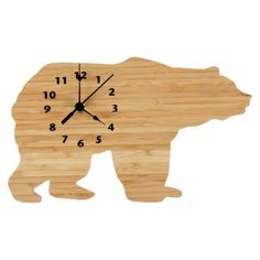 A perfect bamboo accent to any Northwoods themed nursery or room. Trend Lab Northwoods Wall Clock  http://www.trend-lab.com/product-category/collection/northwoods/