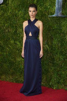 Emily Ratajkowski   All The Looks From The 2015 Tony Awards