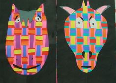 ABC School Art: Animal Weaving - (2nd)