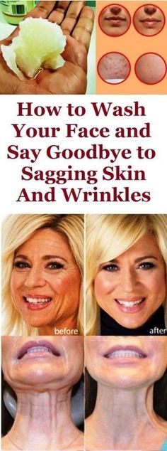 How to Wash Your Face and Say Goodbye to Sagging Skin And Wrinkles Face Beautiful Wrinkles SaggingSkin Skin Beauty Natural healthy 849421179697287253 Piel Natural, Natural Skin, Natural Beauty, Organic Beauty, Beauty Hacks For Teens, Les Rides, Natural Health Tips, Sagging Skin, Wash Your Face