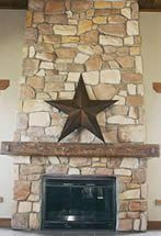 Lancaster Stone Fireplace - Star Huntingdon Valley, Stone Siding, Residential Roofing, Roof Installation, Aesthetic Value, Roofing Contractors, Stone Veneer, Roof Repair, Metal Roof