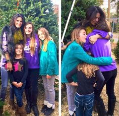 Angie Harmon and their daugthers