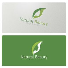 Natural Beauty is a simple and effective logo suitable for bio cosmetics, cosmetic company, spa, beauty center, wellness center, dermatology and many others.