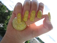 Etude House (Sweet Recipe Icecream Nail Polish) in Lemon Sherbet