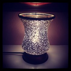 Cream Tulip Lampshade #Scentsy Warmer. My house smells amazing now! Visit brighidporter.scentsy.us for details!