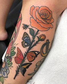 Salvador Dali inspired gap piece for Gab. Boys With Tattoos, Love Tattoos, Beautiful Tattoos, Body Art Tattoos, New Tattoos, Small Tattoos, Rose Vine Tattoos, Tatoos, Flor Tattoo