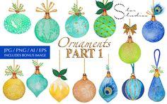 Ornaments part 1 by Star Studios on Creative Market