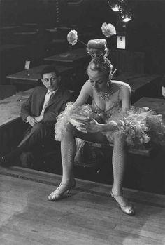 Edouard Boubat. Cabaret Dancer, Paris. 1950s