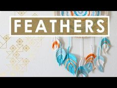 How to Craft FIBER FEATHER DREAMCATCHER | Summer Knit Series - YouTube