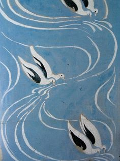 Doves - Maurice Denis (French, 1870-1943) Post-Impressionism