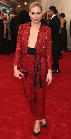 Sienna Miller - Baile do Met 2015