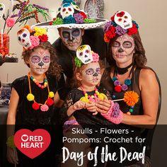 Skulls - Flowers - P