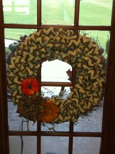 everything is from hobby lobby diy burlap wreath tutorial from