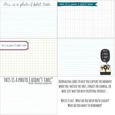 3 Cool Free Printables for Project Life | [ One Velvet Morning ]