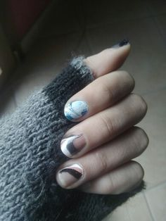 Marble Nails todayy♡♡