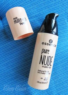 Cherry Colors - Cosmetics Heaven!: Review: Essence Pure Nude Make-up Foundation
