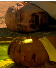 """Parallel moments on """"Breaking Bad"""": Walter White (Bryan Cranston) and Gustavo Fring (Giancarlo Esposito)"""