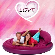 Amazon.com: Fanala 75.2inch diameter circular inflatable air sofa bed adult sex furnitures love making for couples games: Home & Kitchen