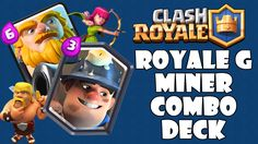 Today we look at a deck in which has a deadly combo of the Royal Giant and the Miner. These two tanky troops can be a serious handful to deal with and leaves. Decks, Clash Royale, Troops, Gaming, Leaves, Big, Easy, Videogames, Front Porches