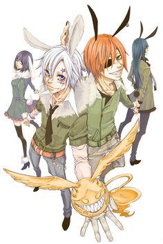 Tags: Anime, D.Gray-man, Allen Walker, Lavi, Yuu Kanda, Lenalee Lee, Timcanpy