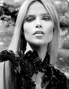 pinterest.com/fra411 #face - Natasha Poly Models Fall Looks for the September Cover Shoot of Vogue Turkey