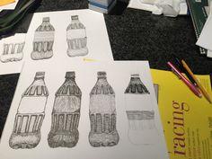 Working on different techniques… #technique #practice #fun #design #carefordesigning #pen #excercise #workinghard #inktober