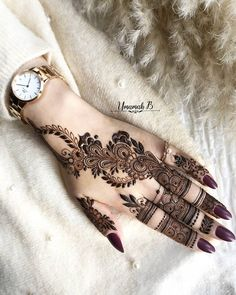 Modern Henna Designs, Mehndi Designs Feet, Indian Henna Designs, Latest Henna Designs, Finger Henna Designs, Mehndi Designs For Girls, Mehndi Designs For Beginners, Dulhan Mehndi Designs, Wedding Mehndi Designs