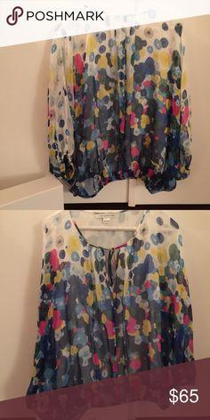 Nwot Diane Von Furstenberg Blouse NWOT Diane Von Furstenberg blouse, not worn, with original box, size small. Diane von Furstenberg Tops Blouses