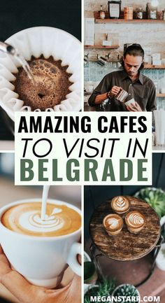 Belgrade was home to Europe's first coffee shop and their specialty coffee scene is currently booming. This is the best coffee in Belgrade. Best Coffee Shop, Coffee Shops, World Beautiful City, Delicious Destinations, Coffee Around The World, Serbia Travel, Europe Travel Guide, Europe Destinations, Travel