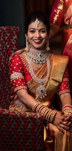 Jewerly Necklace Diamond Fashion Beautiful 27 Ideas For 2019 Indian Bridal Outfits, Indian Wedding Jewelry, Bridal Jewelry, Diamond Choker Necklace, Diamond Jewelry, Diamond Jewellery Indian, Emerald Necklace, Gold Choker, Diamond Bracelets