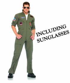 Top Gun Men's Flight Suit Adult X-Large Costume by Leg Avenue