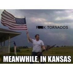 Yup...just shoot that danged ol tornader