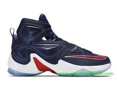 online retailer 1b050 43dfc Nike Lebron 13 PE USA Homme Pas Cher Bleu Rouge 807220 461-1603161967 - Chaussure  Nike BasketBall Magasin Pas Cher En Ligne