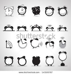 http://thumb101.shutterstock.com/display_pic_with_logo/1206974/143165767/stock-vector-alarm-clock-icons-set-isolated-on-gray-background-vector-illustration-graphic-design-editable-143165767.jpg