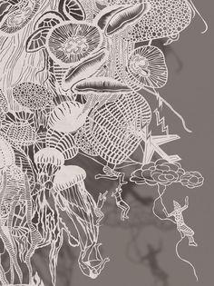Paper Cut Works by Bovey Lee: JuxtapozBoveyLee01.jpg