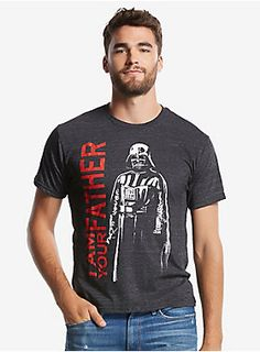 In case there were any doubts | Darth Vader I Am Your Father Tee