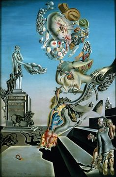 SALVADOR DALI.......PAINTING.......ON TUTT ' ART.......