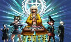DanganRonpa V3: Killing Harmony | Tsumugi Shirogane,Tenko Chabashira,Angie Yonaga,Himiko Yumeno and Ki-Bo