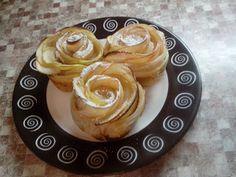 Маруусина каморка: Розы яблочные в слоеном тесте