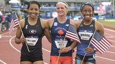 17 NCAA student-athletes have already quailfied for the Rio Olympics in track and field events.