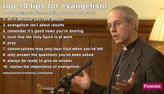 Ten tips for evangelism