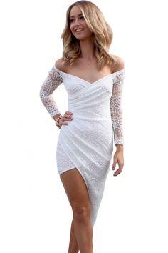 white-lace-asymmetrical-wrap-maxi-dress.jpg (600×900)