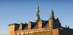 Kronborg Castle in Denmark.  Setting for Shakespeare's Hamlet.  I got lost in the dungeon--and it was creepy.