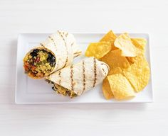 The Veggie Grill breakfast burrito: The menu will list the plant-based egg as 'JUST scrambled egg. Beef Recipes, Vegetarian Recipes, Snack Recipes, Dessert Recipes, Cheap Meals, Easy Meals, Cheap Recipes, Easy Recipes, Grill Breakfast